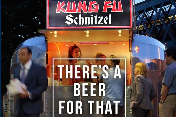 Britain's Beer Alliance's New Outdoor Ads Poke Fun At Street Food