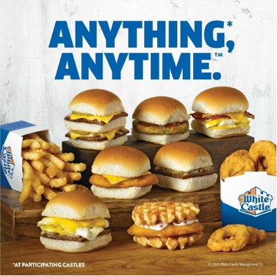 The Wait Is Over: White Castle Launches Anything, Anytime