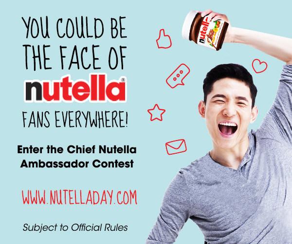Nutella Announces Contest to Find Chief Nutella Ambassador in the USA