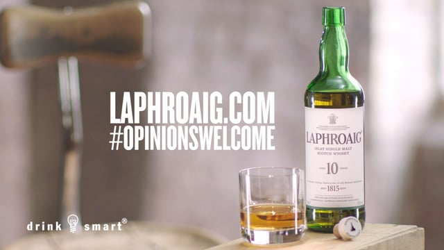 Scots Have a Lot to Say About Laphroaig Scotch Whisky in Latest Ad