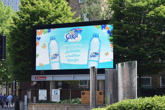 Saka Natural Mineral Water Updates Its Label