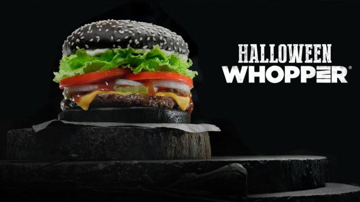 Burger King UK Announces New Black Burger For Halloween