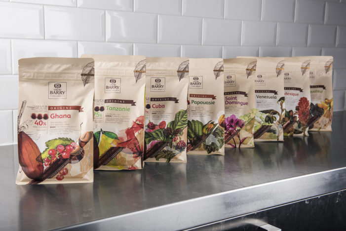 Design Bridge Unveils New Packaging For Cacao Barry