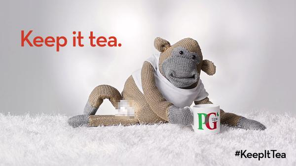 Mother London Helps PG Tips 'Keep It Tea' In Vajazzled World