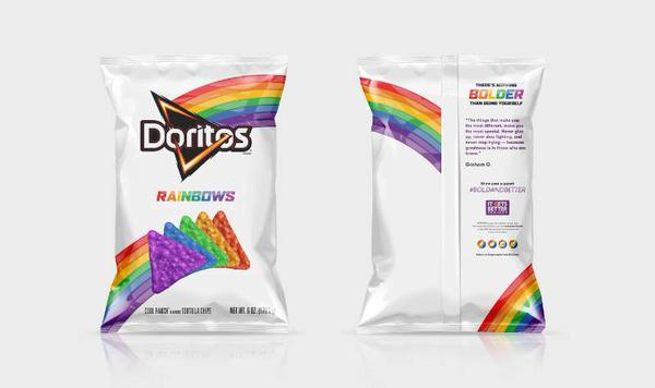 Doritos Launch Limited-Time Rainbow Chips in Support of the LGBT Community