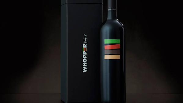 Burger King 'Whooper Wine' Specially Made To Complement Their Iconic Burger