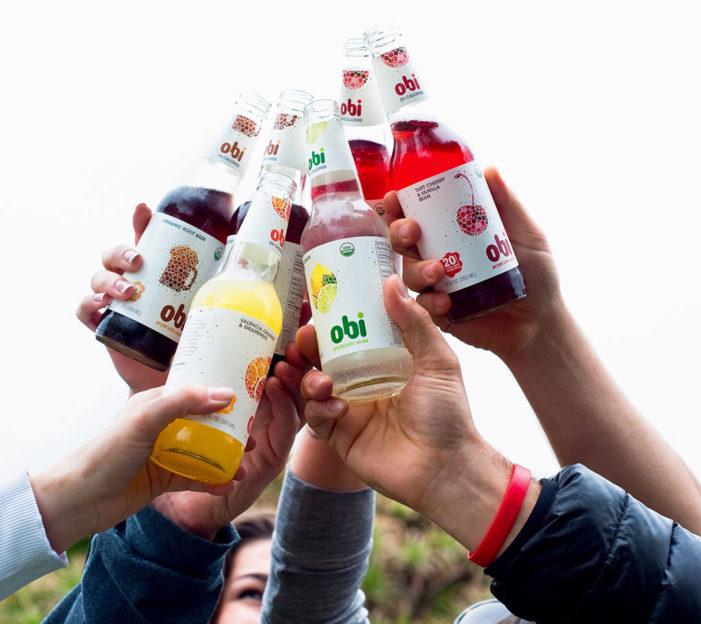 Obi Probiotic Soda Debuts In The US