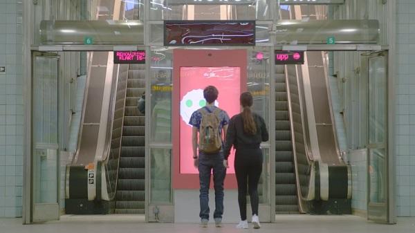 Coca-Cola's Interactive Subway Ad Mimics Commuters' Expressions To Bring Joy