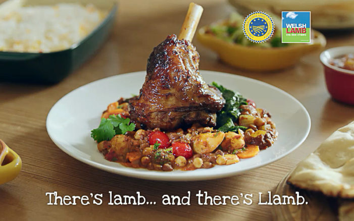 Welsh Lamb Launches New TV Campaign & Strapline with AgencyUK