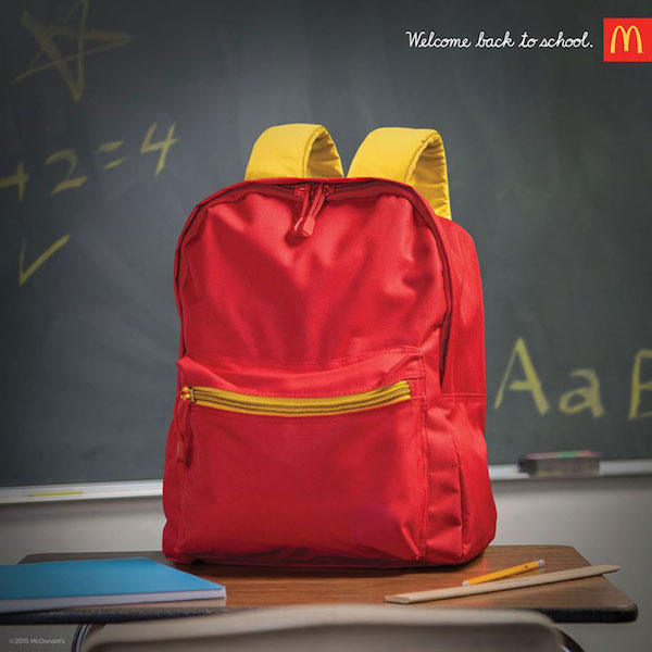 Moroch's McDonald's Ads Remind You of its Menu without Mentioning it