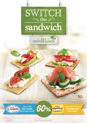 31ST:SECOND Keeps Lunch Light with New Arnott's 'Switch the Sandwich' Push