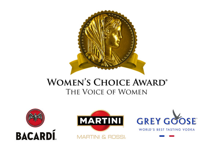 """Bacardí, Grey Goose & Martini """"Most Recommended Liquor Brands"""" by Women"""