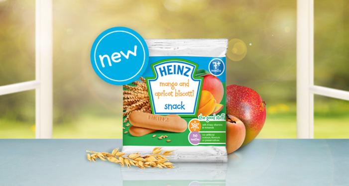 Heinz Drops 'Healthy' & 'Snack' From Baby Biscotti Marketing