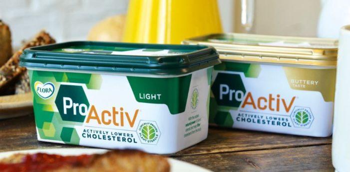 Unilever Rebrands Flora ProActiv As Premium Lifestyle Brand