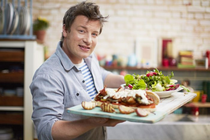 Jamie Oliver Voted UK's Favourite TV Chef of All Time