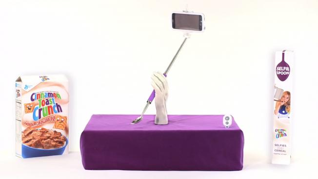Cinnamon Toast Crunch Introduce The Selfie Spoon