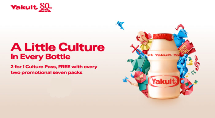 Yakult Celebrates 80th Anniversary with On-pack 'Culture Pass' Promotion