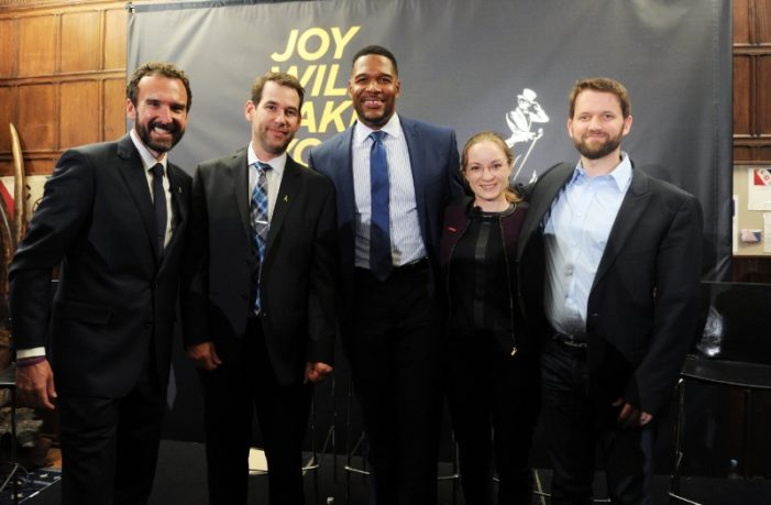 Joy Scales New Heights for Johnnie Walker at the Explorers Club