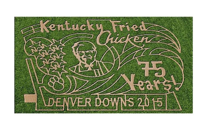 Do Aliens Love KFC Too? Giant Corn Maze Features Colonel Sanders' Image