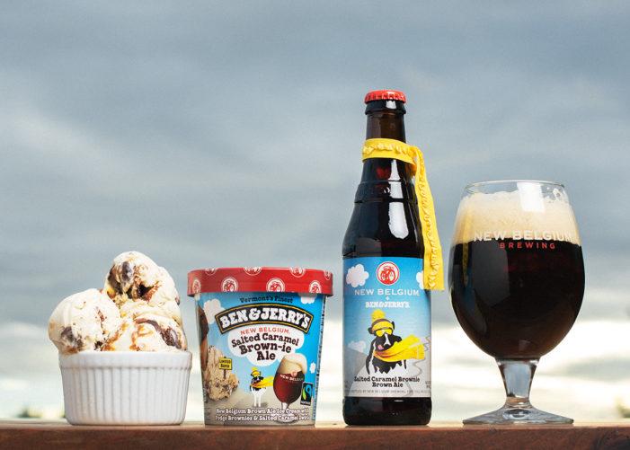 Ben & Jerry's And New Belgium Brewing Toast Their Partnership