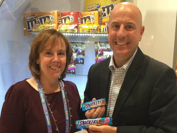 Mars Chocolate North America Unveils New Products at 2015 NACS Show