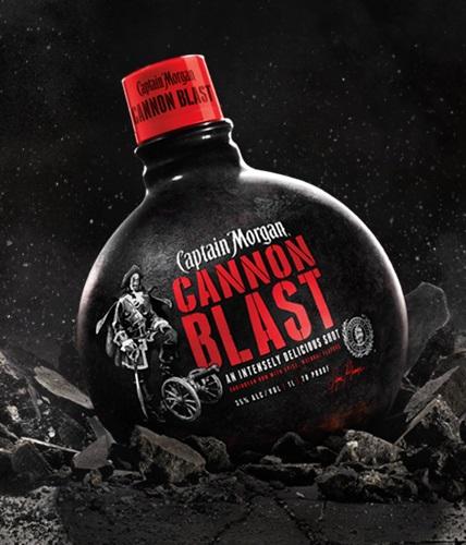 Captain Morgan Announces it's Time to Have a 'Blast' – a Cannon Blast