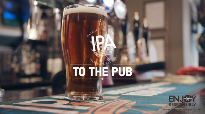 Grey Raises a Glass to the Great British Boozer in Greene King Brewery Campaign