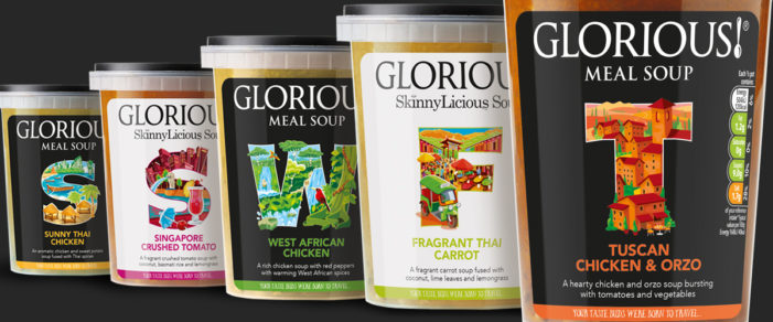 Pure Redesigns Glorious Brand Packaging