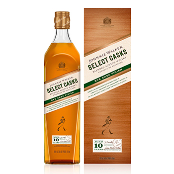 Johnnie Walker Unveils its Select Casks Series with Rye Cask Finish