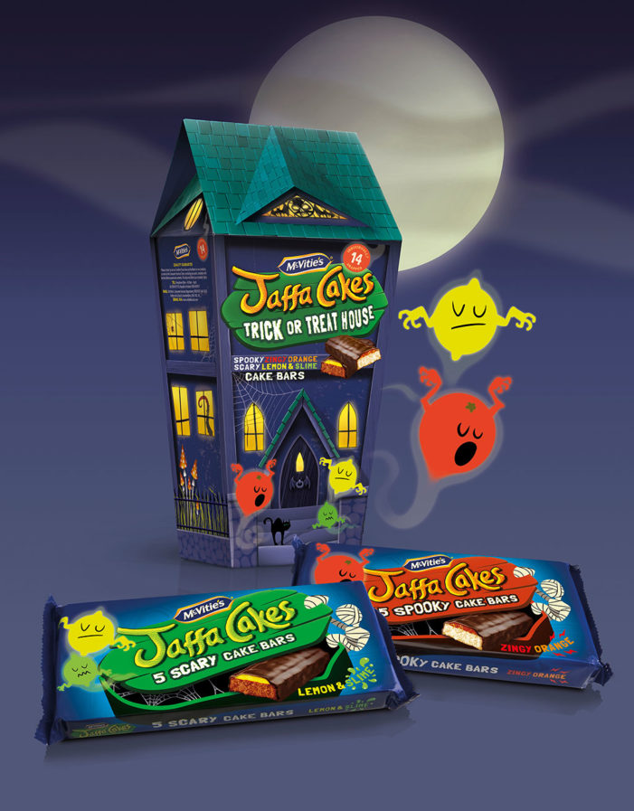 Springetts Designs Halloween Jaffa Cakes For McVitie's