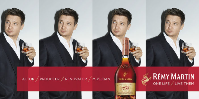 Jeremy Renner Fronts Remy Martin's New Campaign