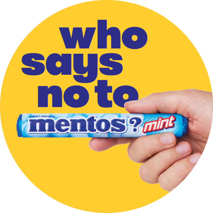 The UK's Fastest Growing Mint Brand Asks 'Who Says No To Mentos?'