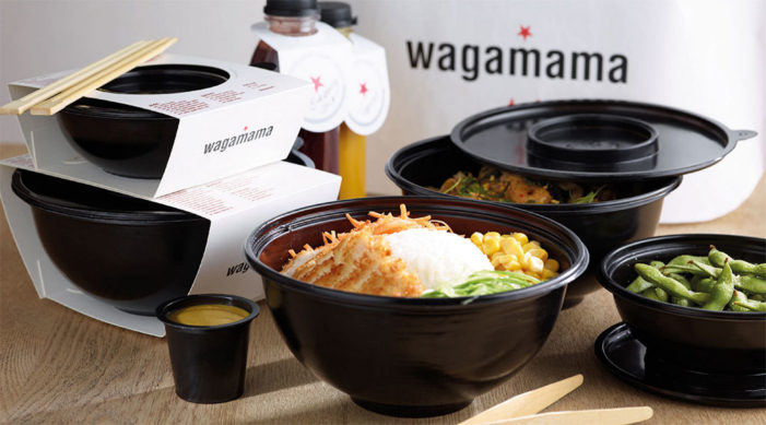 Pearlfisher Designs Wagamama's Takeaway Packaging