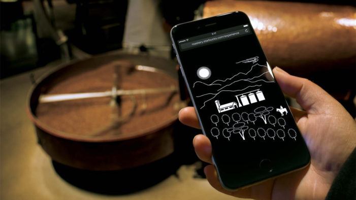 Starbucks Launch The Roastery Mobile Experience