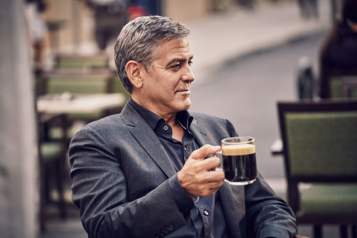 Nespresso Introduces George Clooney As New US Brand Ambassador