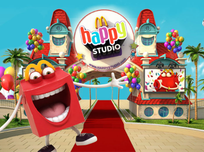 McDonald's Pairs With R/GA London To Re-Launch Happy Studio