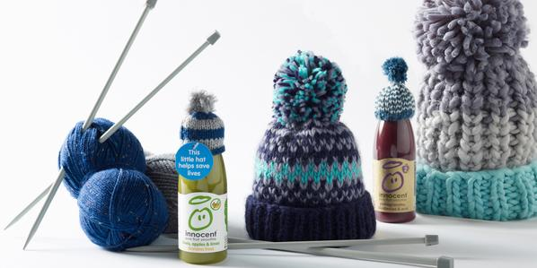 innocent Teams-up with Oliver Bonas for this Year's Big Knit Campaign
