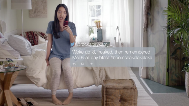 McDonald's Poke Fun at Social Media Reactions in All-Day Breakfast Ads