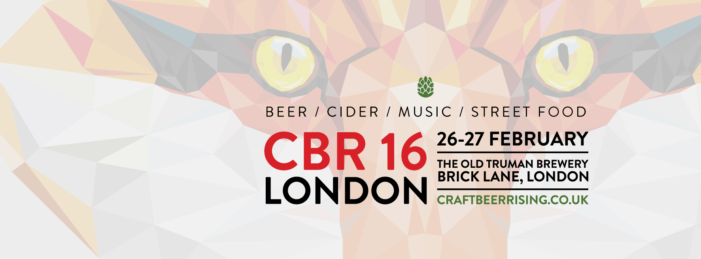 CBR London 2016 Back For Fourth Year with New Look