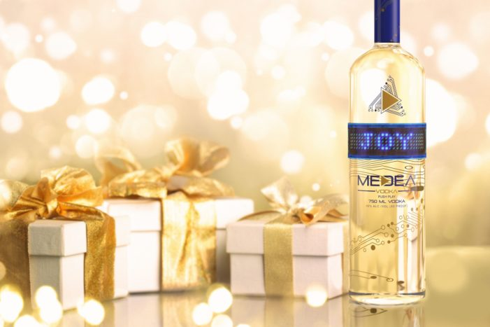 Medea Vodka's Bluetooth Bottles Send The Perfect Message For Christmas