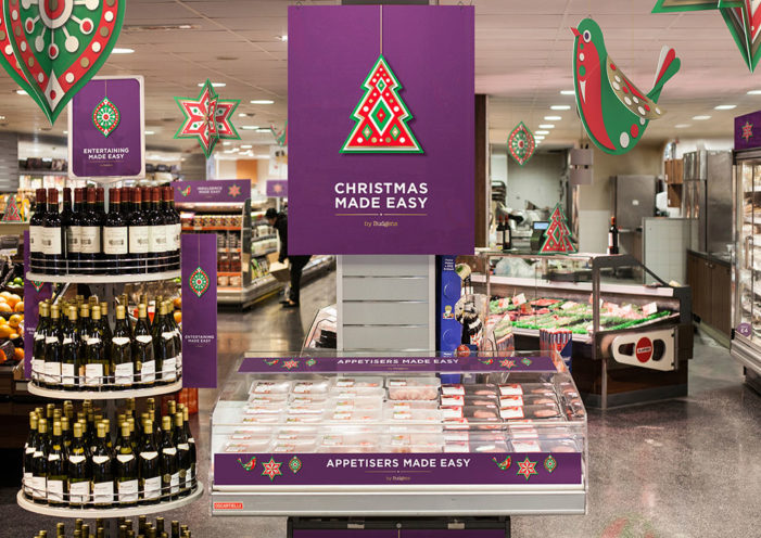 Taxi Studio Delivers Christmas 'Look & Feel' to Budgens Stores in UK
