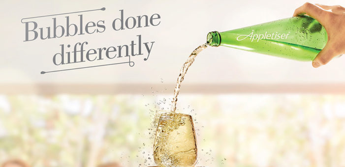 Appletiser Launches New 'Bubbles Done Differently' Christmas Campaign