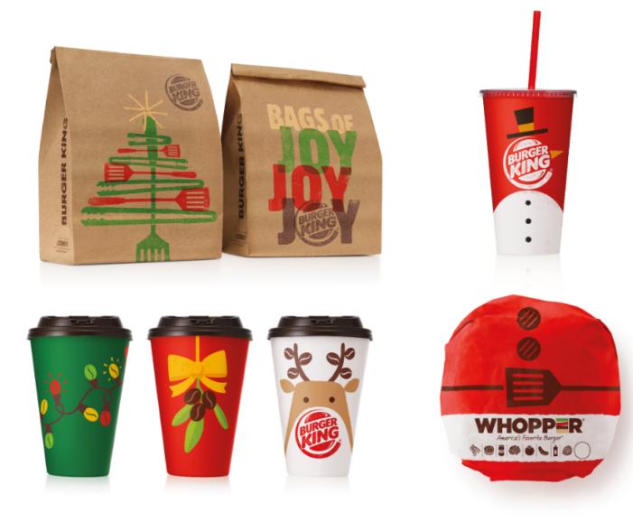 Burger King & Turner Duckworth Launch New Christmas Packaging