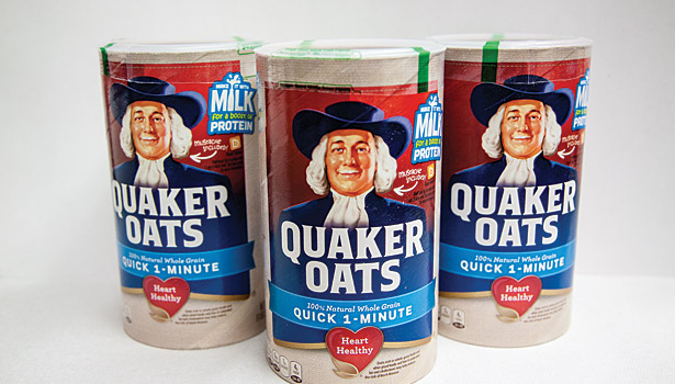 Quaker Celebrates 100th Anniversary of Iconic Oats Canister