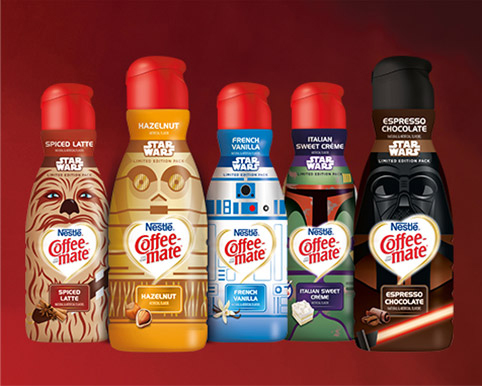 Nestlé Coffee-Mate Launch Star Wars Themed Creamers