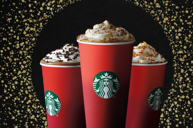Starbucks Unveils Christmas #RedCups with Socially Charged Installation