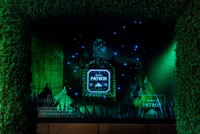 Patrón Tequila Takes Over Display at Selfridges in a Christmas Sales Drive