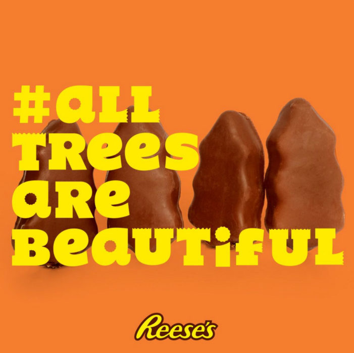 Reese's Turns Criticisms About Its Christmas Candy Into Amusing Ads