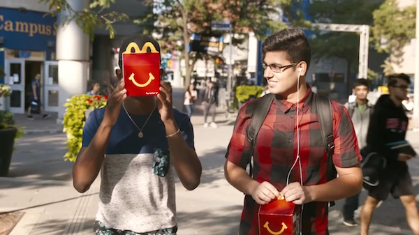 McDonald's Delivers Special Thank You Cards To Its Customers