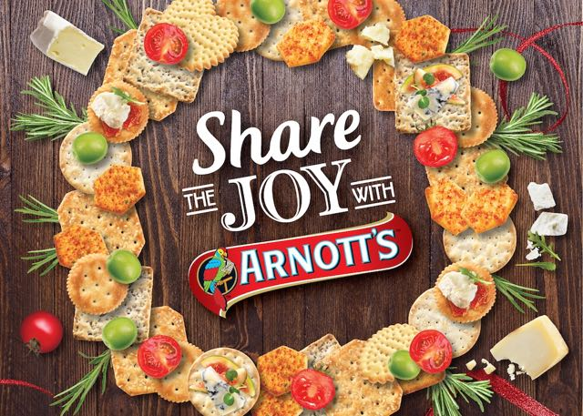 Arnott's Create & Shares Joy this Christmas Season in New Campaign